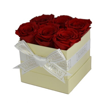 One Year Roses Box - 6 Piece
