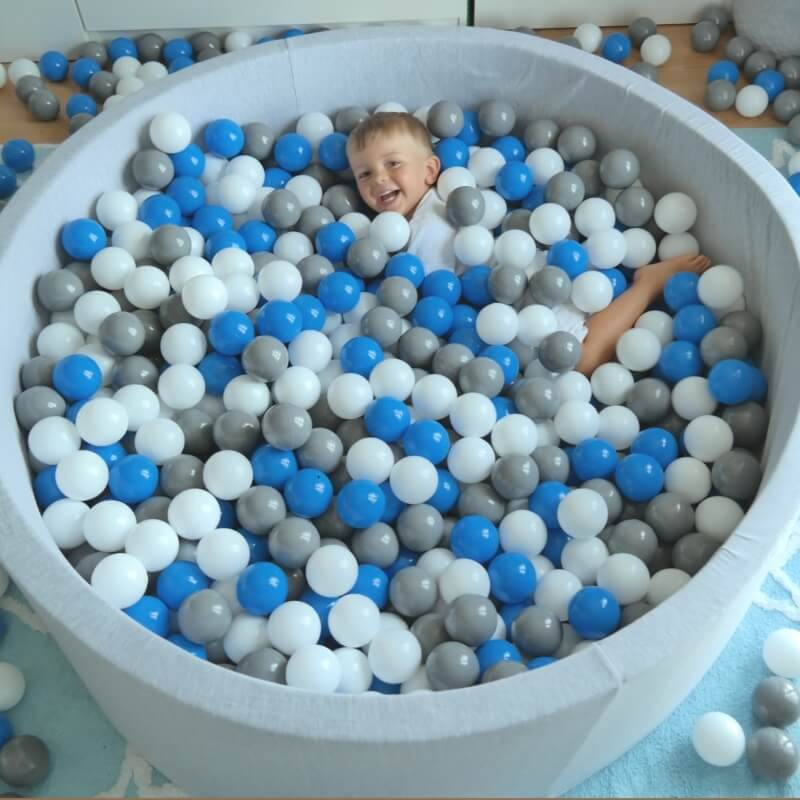 Children's Soft Jersey Ball Pit - Large