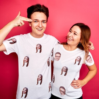 Personalised Face Pj's