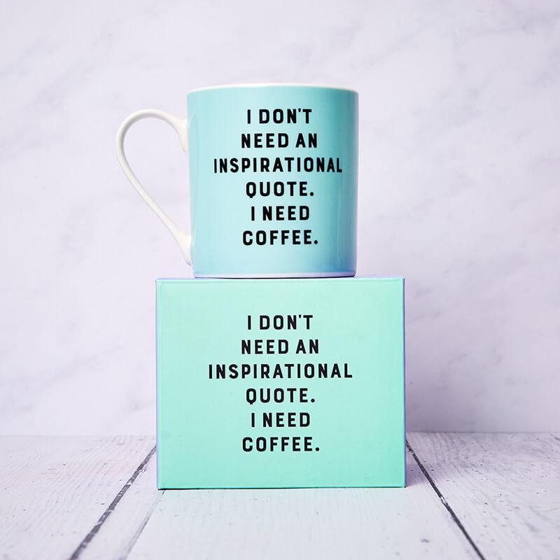 Yes Studio I Need Coffee Mug