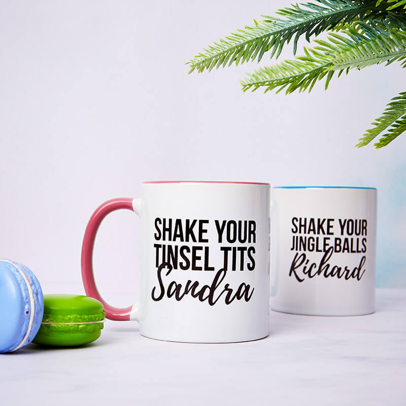 Shake Your Christmas Bits Mug Set
