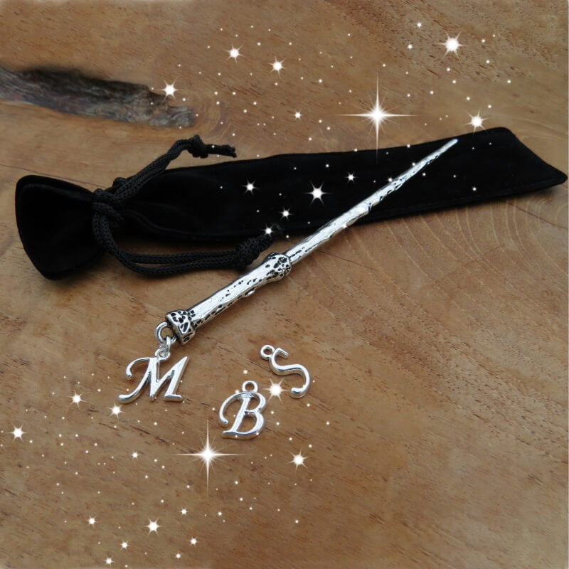 Personalised Initial Charm Wand