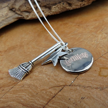 Personalised Harry Potter Inspired Charm Necklace