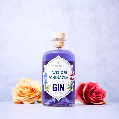 The Old Curiosity Secret Garden Gin - Lavender And Echinacea