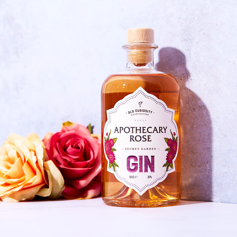 The Old Curiosity Secret Garden Gin - Apothecary Rose