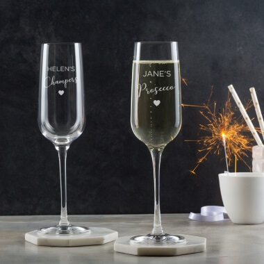 Personalised Prosecco Flute
