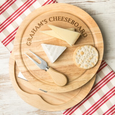 Personalised Name Cheese Board Set
