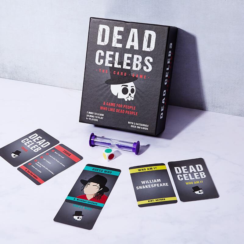 Dead Celebs Card Games