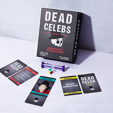 Dead Celebs Card Games