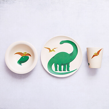 Bamboo Hungry Kids Set - Hungry Dino