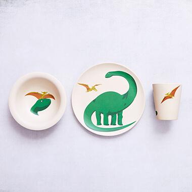 Bamboo Hungry Kids Set - Hungry Dino