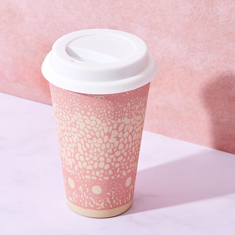 Bamboo Cruising Travel Mug - DNA Pink