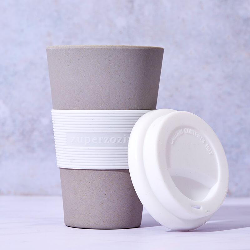 Bamboo Cruising Travel Mug - Stone Gray