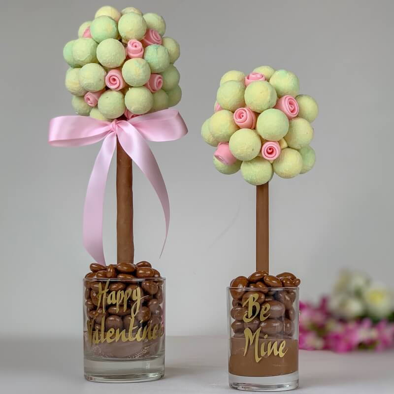 Personalised Valentines Gin & Tonic Truffle Sweet Tree