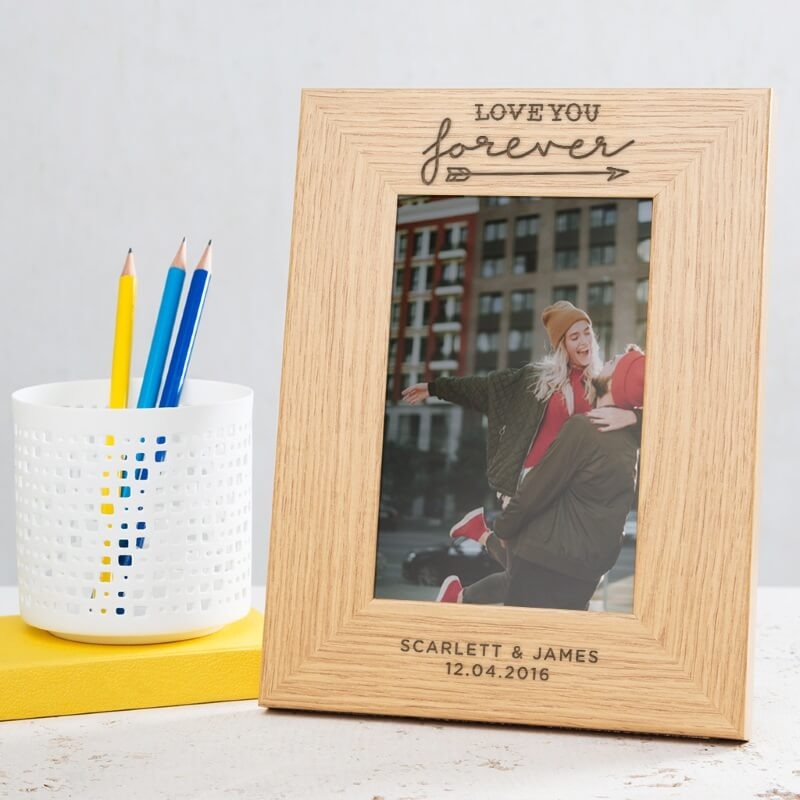 Personalised Love You Forever Photo Frame Buy From Prezzyboxcom