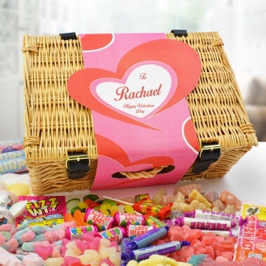 Personalised Valentine's Sweet Hamper