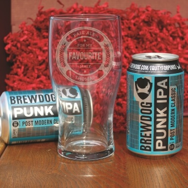 Personalised Pale Ale Gift Set