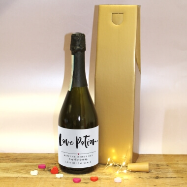 Personalised Love Potion Prosecco Gift Set