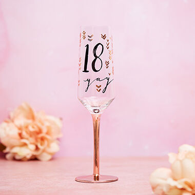 18th Birthday Ch&agne Flute & Unique 18th Birthday Gifts u0026 Present Ideas | Prezzybox.com
