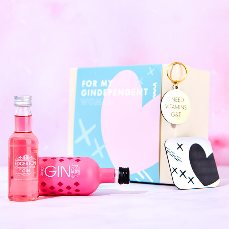 Gin-Dependent Woman Gin Gift Set