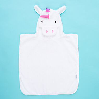 Personalised Unicorn Poncho