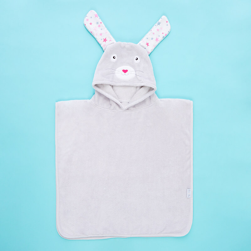 Personalised Bunny Ears Poncho
