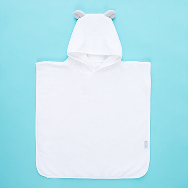 Personalised Bear Ears Poncho