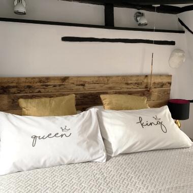 King & Queen Pillowcase Set