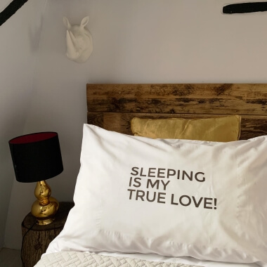 Sleeping Is My True Love Pillowcase