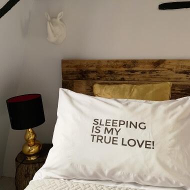 Sleeping Is My True Love Pillowcase