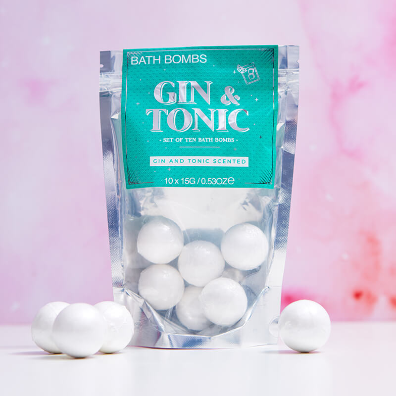 Gin & Tonic Bath Bombs