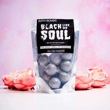 Black Like My Soul Bath Bombs