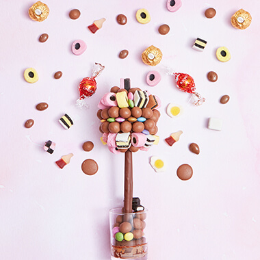 Personalised Mixed Sweet Tree
