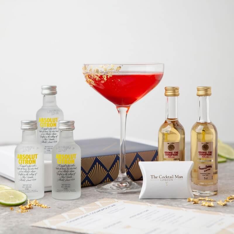 Champagne Cosmopolitan Cocktail Kit