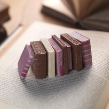 Miniature Books Chocolate