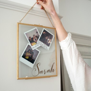 Personalised Hanging Frame