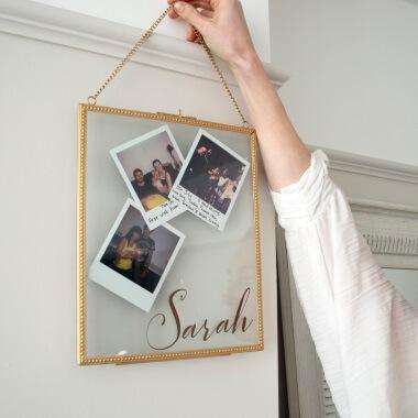 Personalised Hanging Frame