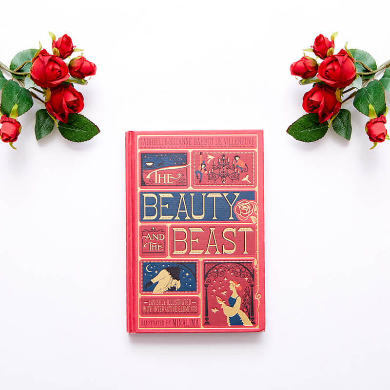 The Beauty And The Beast - With Illustrated And Interactive Elements