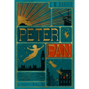 Peter Pan - With Illustrated And Interactive Elements