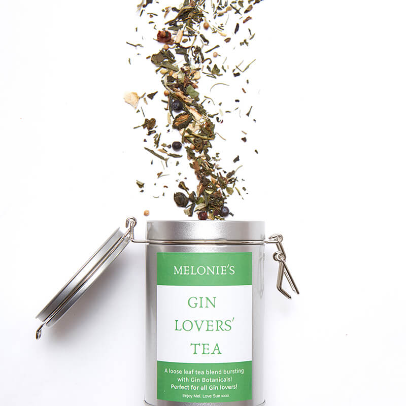 Personalised Gin Flavoured Tea