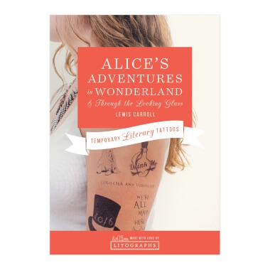 Temporary Tattoos - Alice's Adventures In Wonderland