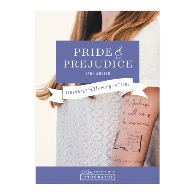 Temporary Tattoos - Pride And Prejudice
