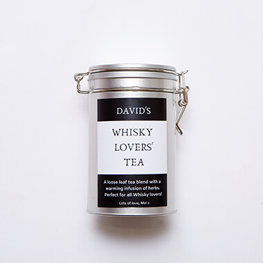 Personalised Whisky Flavoured Tea