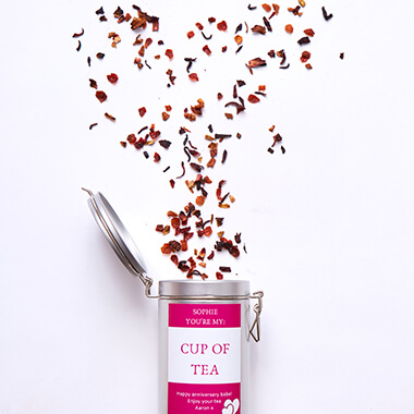 Personalised I Love You Tea