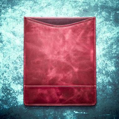 Personalised Vintage Leather Tablet Case