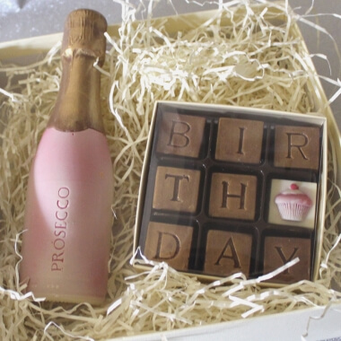 Prosecco & Birthday Chocolates