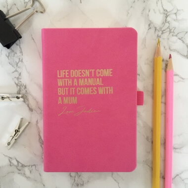 Personalised Life Doesn't Come With a Manual Notebook