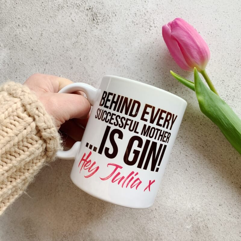 Personalised Behind Every Mother Mug