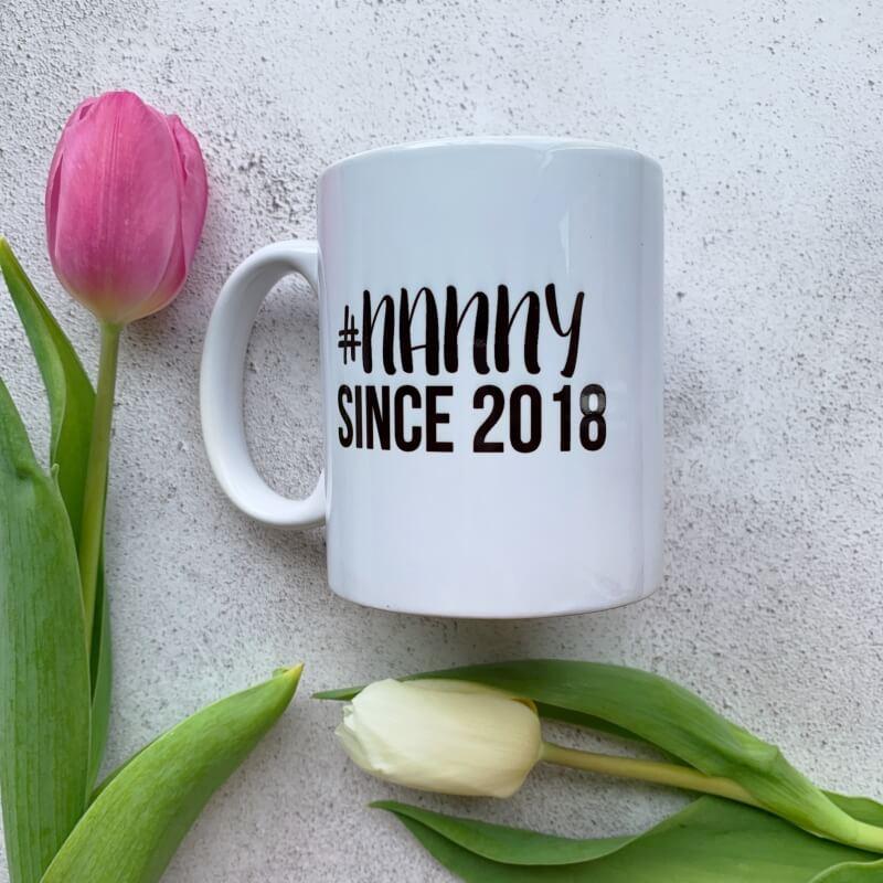 Personalised Hashtag Mug