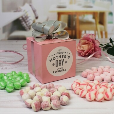 Personalised Mother's Day Sweet Cube